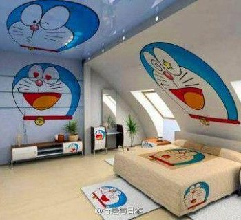 bedroom stretch ceiling